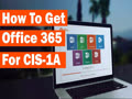 How To Get Office 365 For CIS-1A