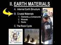 II. EARTH MATERIALS - 4