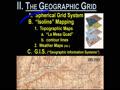 II. GEOG GRID - 8