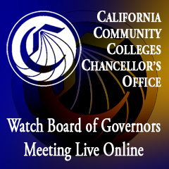 California Community Colleges Chancellor's Office | Watch Board of Governors Meeting Live Online