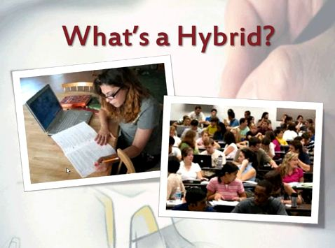 OTC13: Designing a Partially Online (Hybrid) Course - What Goes Where and When