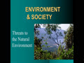 Environment Intro