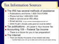 Chapter 03 - Slides 34-50 - Tax Resources, Audits, & Strategies