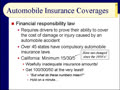 Chapter 08 - Slides 24-44 - Auto Insurance
